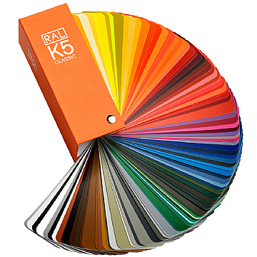 Ral K5 Classic Colour Chart Swatch Semi Matte Only 163 38 95